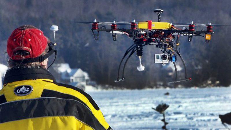 Технологии, которые изменили поисково-спасательные операции. Беспилотники  | Esmynews