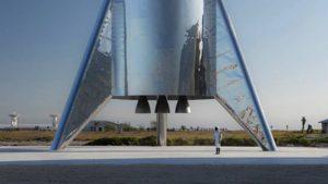 Третий прототип корабля Starship Илона Маска лопнул при испытаниях   Esmynews