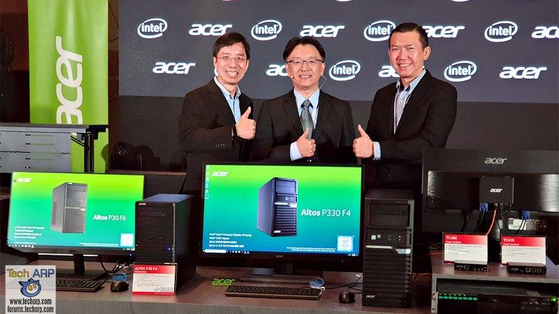 Acer представила российскому рынку Altos | Esmynews