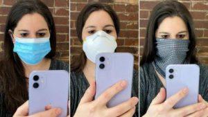 iPhone узнает владельца в медицинской маске   Esmynews