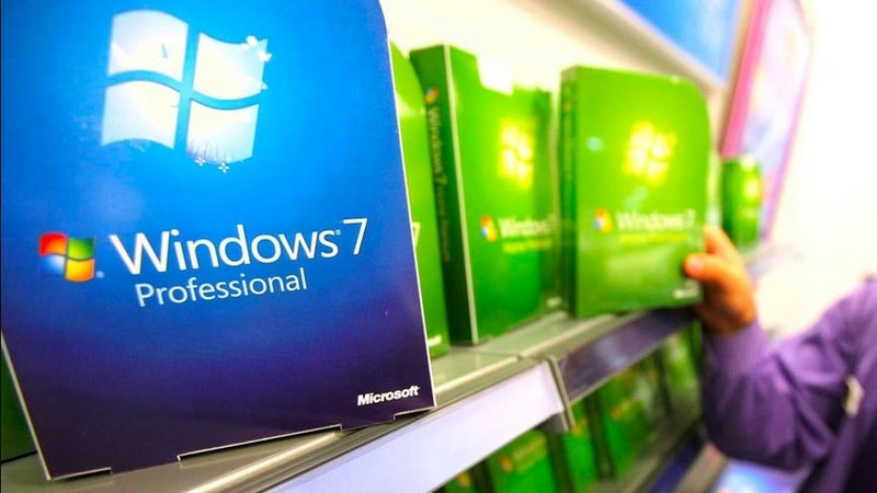 Windows 7 не сдает позиций в популярности | Esmynews